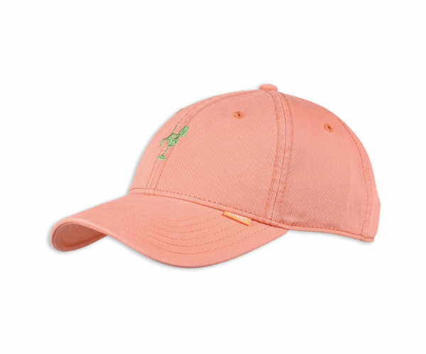 6 Panel Curved Visor Washed Girl