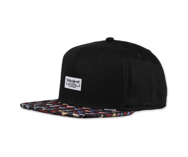 6 Panel Snapback Cap WLU Triangle Rev.