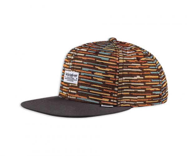 6 PANEL SNAPBACK CAP WLU CRAZY STRIPES