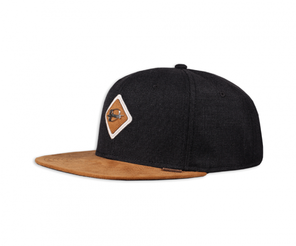 6 Panel Snapback Cap Metal Patch