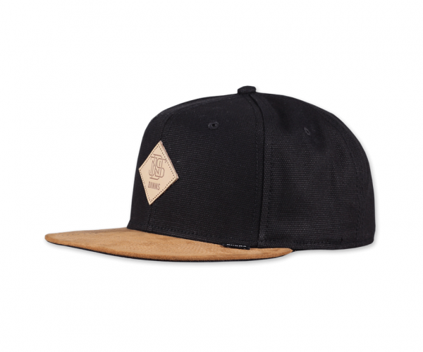 6 Panel Snapback Cap Light Canvas