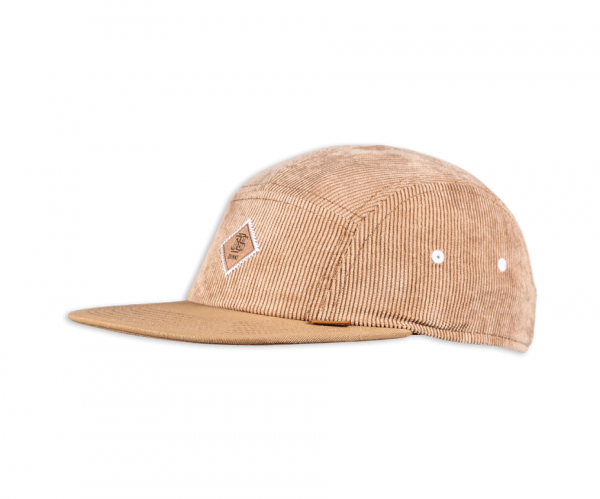 5 Panel Flat Cap WashedCorduroy