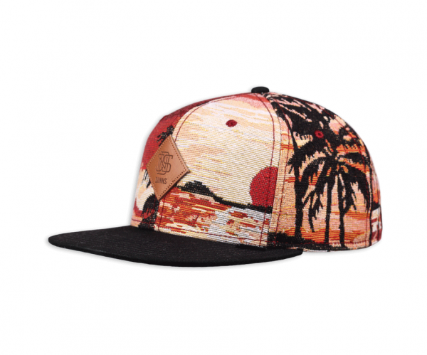 6 Panel Snapback Cap CP Sunrise