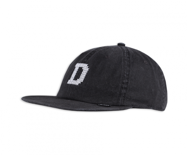 6 PANEL SNAPBACK CAP DECONSTRUCTED CROSS D