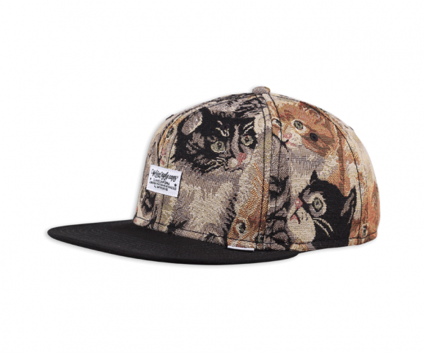 6 Panel Snapback Cap WLU Cat #2